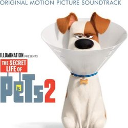 The Secret Life of Pets 2 聲帶 (Alexandre Desplat) - CD封面
