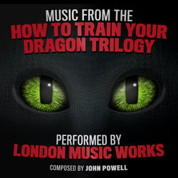 Music from the 'How to Train Your Dragon' Trilogy Soundtrack (John Powell) - CD cover