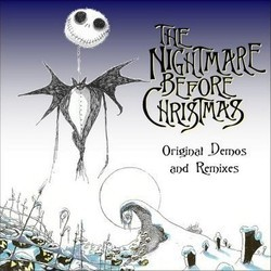 The Nightmare Before Christmas Soundtrack (Various Artists, Danny Elfman) - CD cover