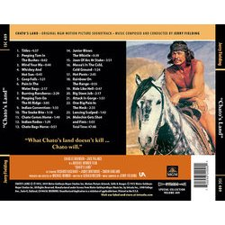 Chato's Land Soundtrack (Jerry Fielding) - CD Achterzijde