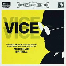 Vice Soundtrack (Nicholas Britell) - CD cover