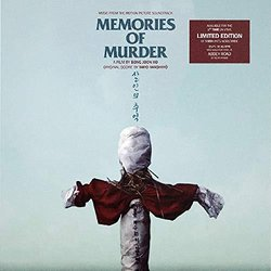 Memories of Murder Colonna sonora (Taro Iwashiro) - Copertina del CD