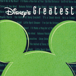 Disney's Greatest Vol. 2 声带 (Various Artists) - CD封面