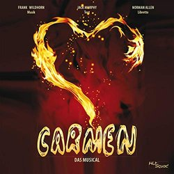 Carmen - Das Musical Soundtrack (Jack Murphy, Frank Wildhorn) - CD cover