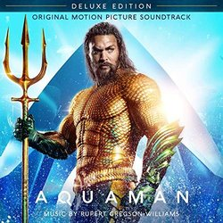 Aquaman Trilha sonora (Various Artists, Rupert Gregson-Williams) - capa de CD