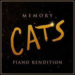 Cats: Memory - Piano Rendition サウンドトラック (The Blue Notes) - CDカバー