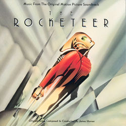 The Rocketeer Colonna sonora (James Horner) - Copertina del CD
