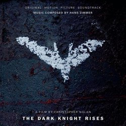 The Dark Knight Rises Soundtrack (Hans Zimmer) - CD cover