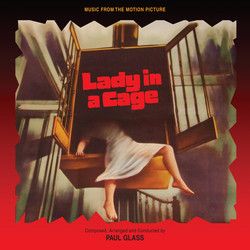 Lady in a Cage Soundtrack (Paul Glass) - CD-Cover