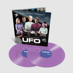 UFO Soundtrack (Barry Gray) - cd-inlay