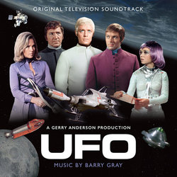 UFO Soundtrack (Barry Gray) - CD cover