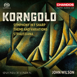 Korngold Soundtrack (Erich Wolfgang Korngold) - CD cover