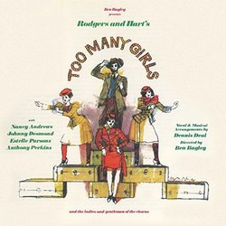 Too Many Girls Soundtrack (Lorenz Hart, Richard Rodgers) - CD cover