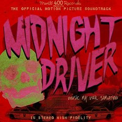 Midnight Driver Soundtrack (Neil Sabatino) - CD cover