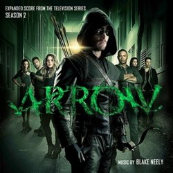 Arrow: Season 2 Soundtrack (Blake Neely) - Carátula