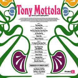 Enoch Light Presents Tony & Strings Soundtrack (Various Artists, Tony Mottola) - CD Back cover