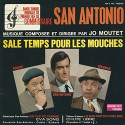 Sale temps pour les mouches Soundtrack (Jo Moutet) - CD cover