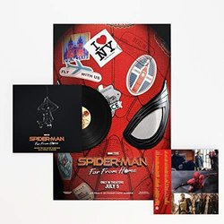 Spider-Man: Far from Home Trilha sonora (Michael Giacchino) - capa de CD