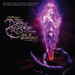 The Dark Crystal: Age of Resistance Volume 1 サウンドトラック (Daniel Pemberton) - CDカバー