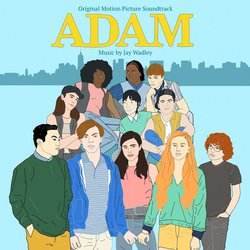 Adam Soundtrack (Jay Wadley) - CD cover