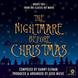 The Nightmare Before Christmas: What's This - Danny Elfman - 06/09/2019