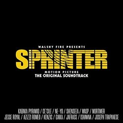 Sprinter Soundtrack (Various Artists, Joseph Trapanese) - CD cover