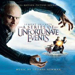 Lemony Snicket's a Series of Unfortunate Events Μουσική υπόκρουση (Thomas Newman) - Κάλυμμα CD