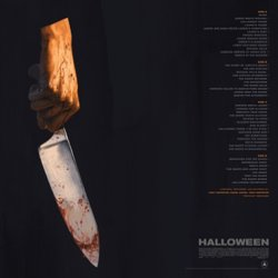 Halloween Soundtrack (Cody Carpenter, John Carpenter, Daniel Davies) - CD Back cover