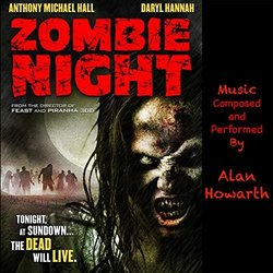 Zombie Night Bande Originale (Alan Howarth) - Pochettes de CD