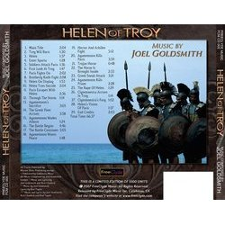 Helen Of Troy - Job Man Soundtrack (Joel Goldsmith) - CD Trasero
