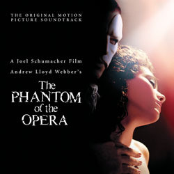 The Phantom of the Opera Soundtrack (Andrew Lloyd Webber) - CD-Cover