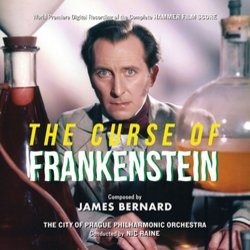 Dracula / The Curse of Frankenstein Soundtrack (James Bernard) - CD cover