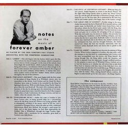 Forever Amber Soundtrack (David Raksin) - CD Achterzijde