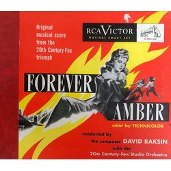 Forever Amber Soundtrack (David Raksin) - CD cover