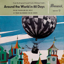 Around The World In 80 Days Bande Originale (Victor Young) - Pochettes de CD