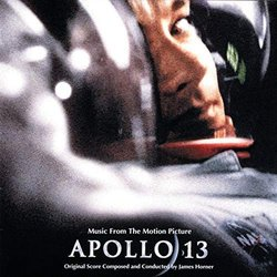 Apollo 13 Soundtrack (Various Artists, James Horner) - CD cover