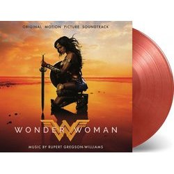 Wonder Woman Soundtrack (Rupert Gregson-Williams) - cd-inlay