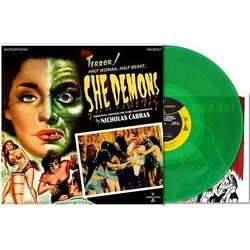 She Demons Soundtrack (Nicholas Carras) - cd-carátula