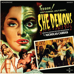 She Demons Soundtrack (Nicholas Carras) - Carátula