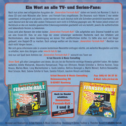 Generation Fernseh-Kult 3 Soundtrack (Various Artists) - CD Achterzijde