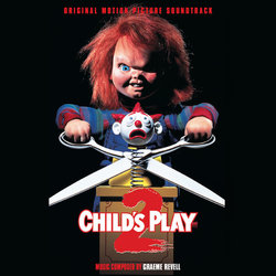 Child's Play 2 Soundtrack (Graeme Revell) - CD cover