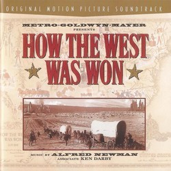 How the West Was Won Colonna sonora (Alfred Newman) - Copertina del CD