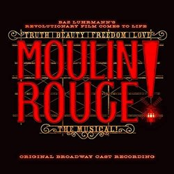 Moulin Rouge! The Musical Ścieżka dźwiękowa (Various Artists) - Okładka CD