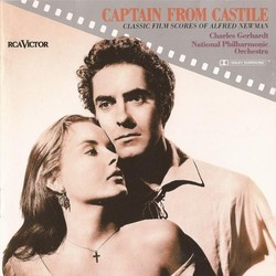 Captain from Castile: Classic Film Scores of Alfred Newman Soundtrack (Alfred Newman) - CD-Cover