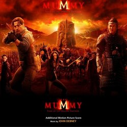 The Mummy: Tomb of the Dragon Emperor Soundtrack (John Debney) - CD-Cover