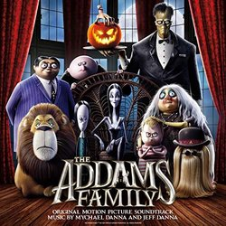 The Addams Family Soundtrack (Jeff Danna, Mychael Danna) - CD-Cover