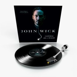 John Wick Colonna sonora (Tyler Bates, Joel J. Richard) - cd-inlay