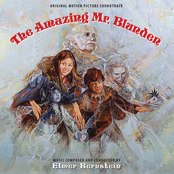 The Amazing Mr. Blunden Soundtrack (Elmer Bernstein) - CD cover