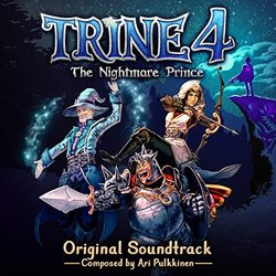 Trine 4: The Nightmare Prince Soundtrack (Ari Pulkkinen) - CD cover