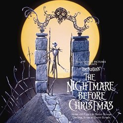 The Nightmare Before Christmas Bande Originale (Danny Elfman) - Pochettes de CD